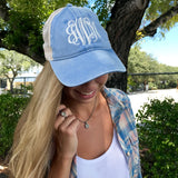 Monogram Tahiti Blue Hat