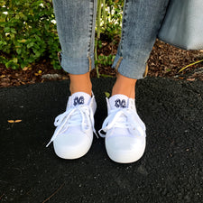 Monogram Sparkle Star Sneakers