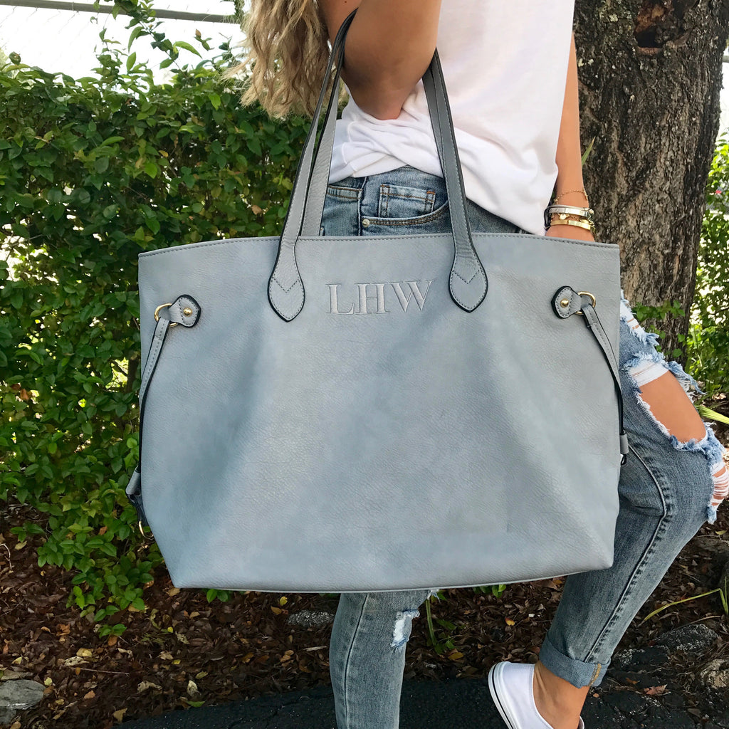 Monogram Tate Tote Bag