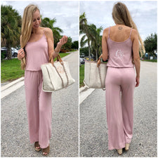 Monogram Serena Swing Jumpsuit