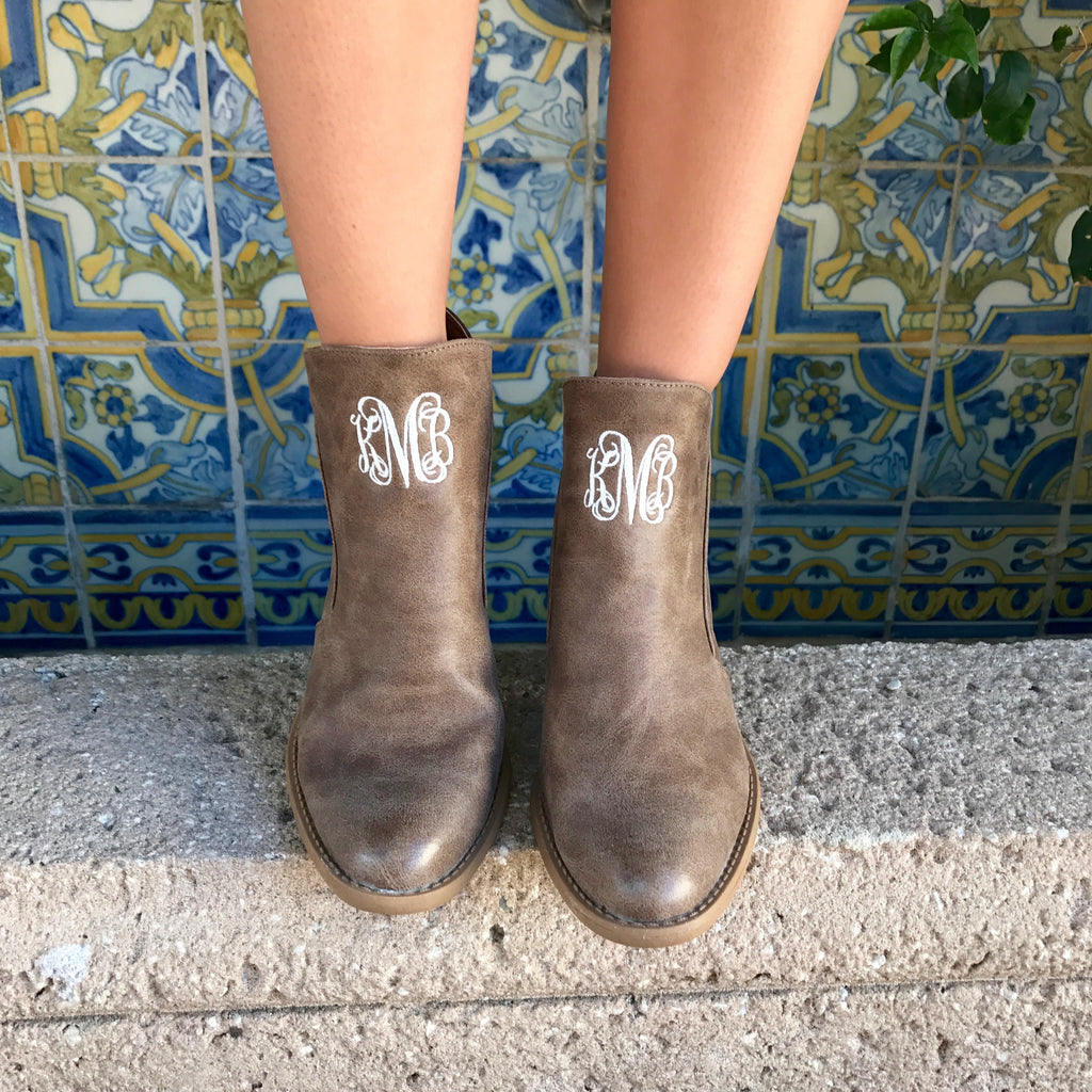 Monogram Bentley Booties