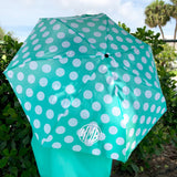 Monogram Rayna Polka Dot Umbrella