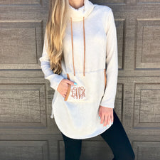 Monogram Sequin Sweater