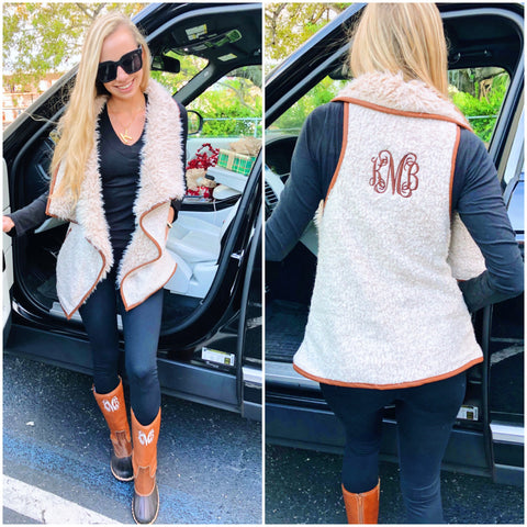 Monogram Harvest Wrap