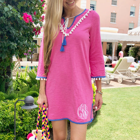 Monogram Tulum Embroidered Top