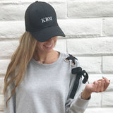Monogram Bailey Black Hat