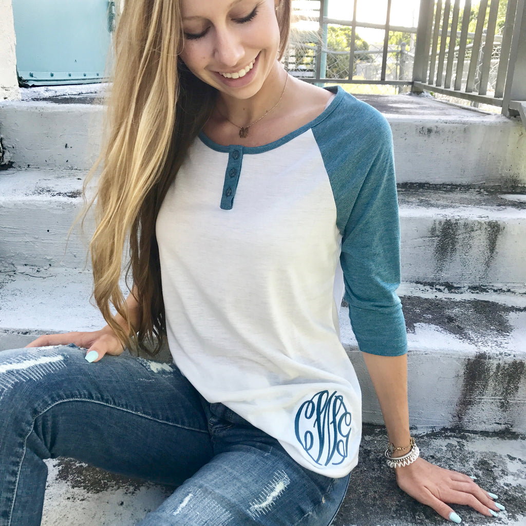 Monogram Swag Bag {monthly clothing subscription}