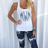 Monogram Riley Racerback Tank Top