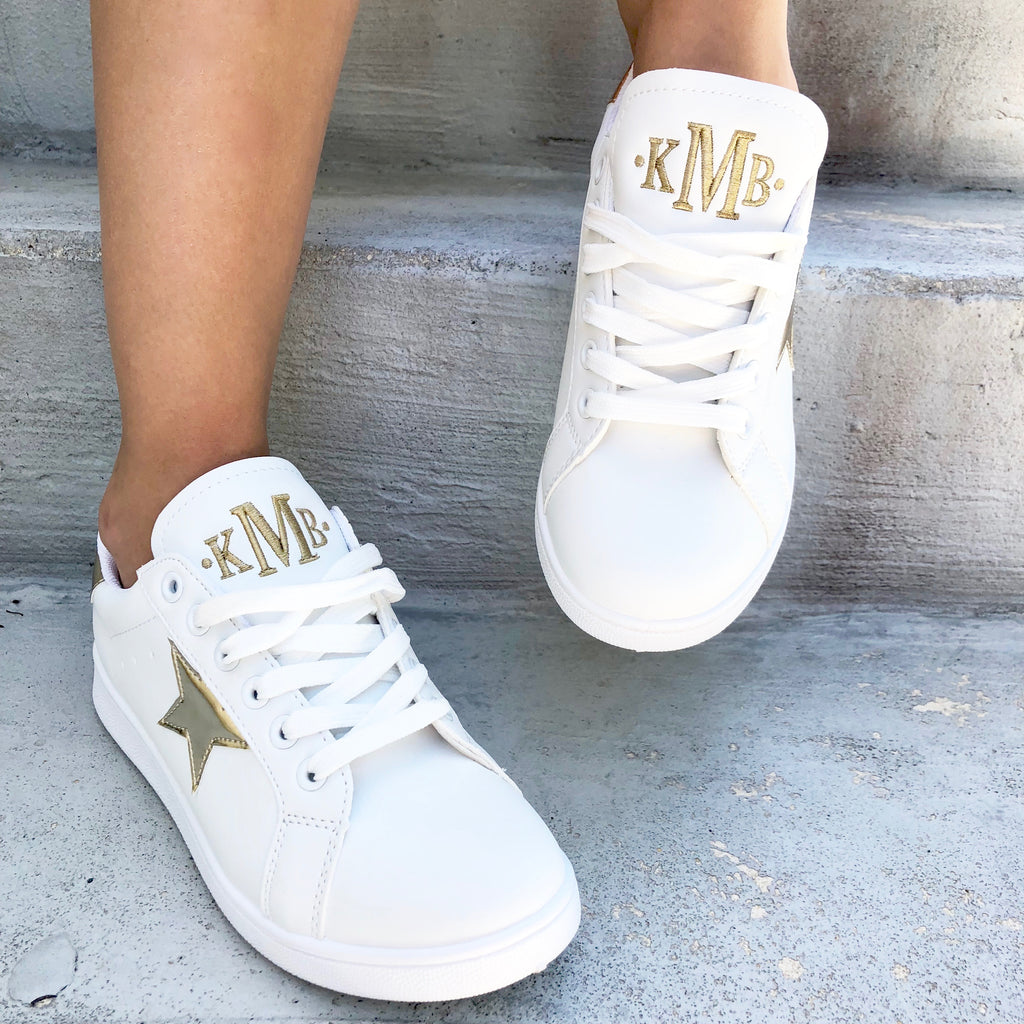 Monogram Star Sneakers