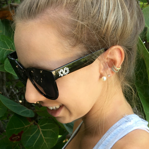 Monogram Rose Sunnies