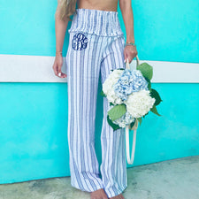 Monogram Ford Striped Pants