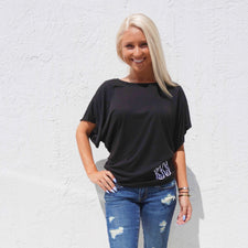 Monogram Farrah Flowy Top