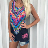 Monogram Fallon Feather Tank