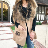 Monogram Sable Fur Vest
