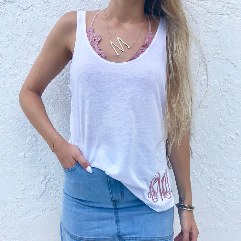 Monogram Stephanie Tank