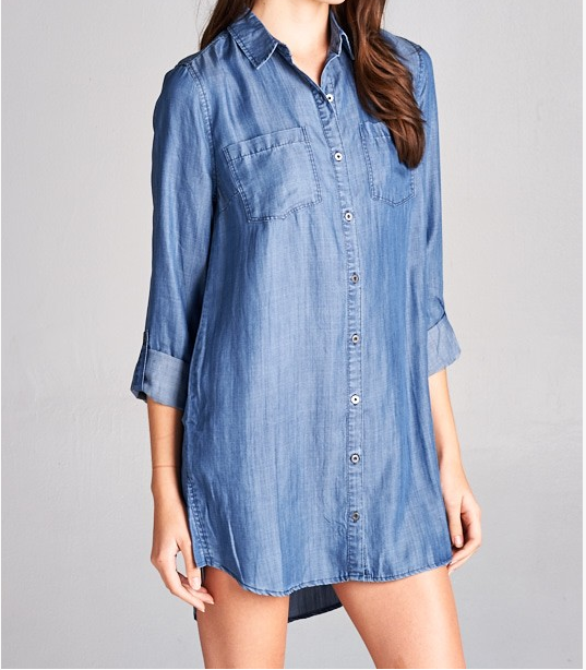 Monogram Dakota Denim Dress