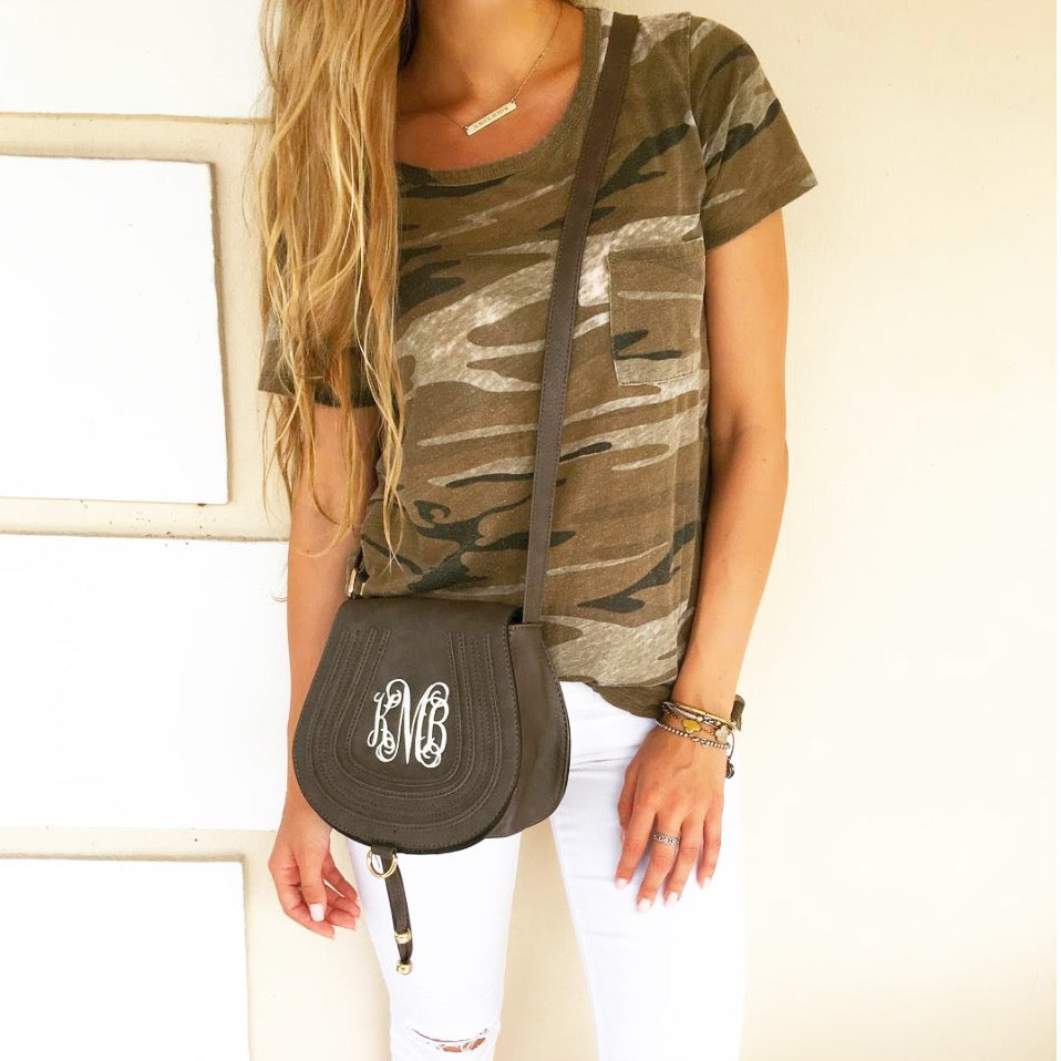 Monogram Capri Crossbody Bag