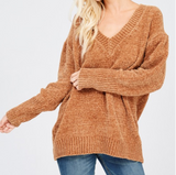 Monogram Talia Chenille Sweater