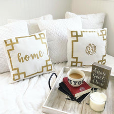 Monogram Dish Towel Set