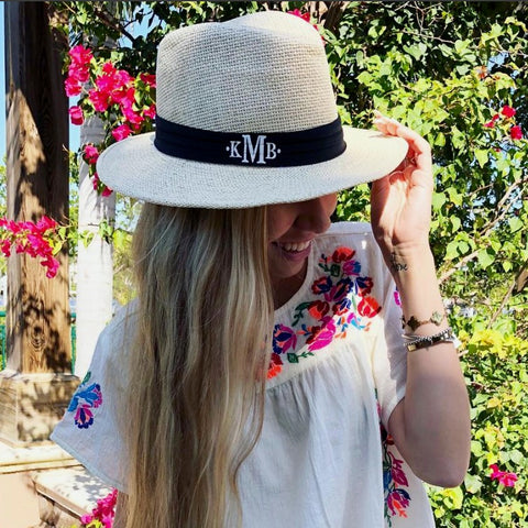 Monogram Diamond Hat