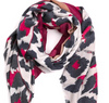 Monogram Luxe Leopard Scarf