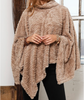 Monogram Teddy Bear Blanket Poncho