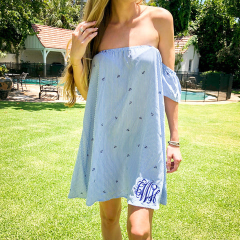 Monogram Mint Julep Dress
