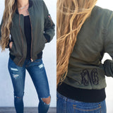 Monogram Bomber Jacket