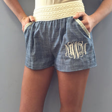 Heather Gray Terry Shorts