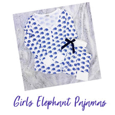 Elephant Pajama Set - GIRLS