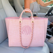 Monogram Queen Quilted Crossbody Bag