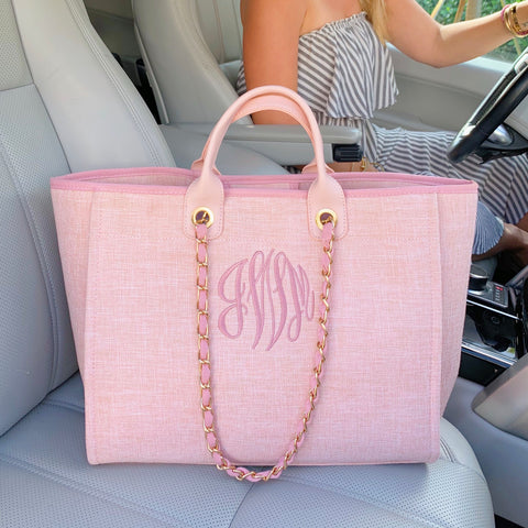 Monogram Honey Crossbody Bag