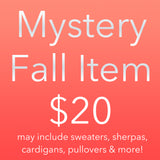 Mystery Fall Clothing Sale