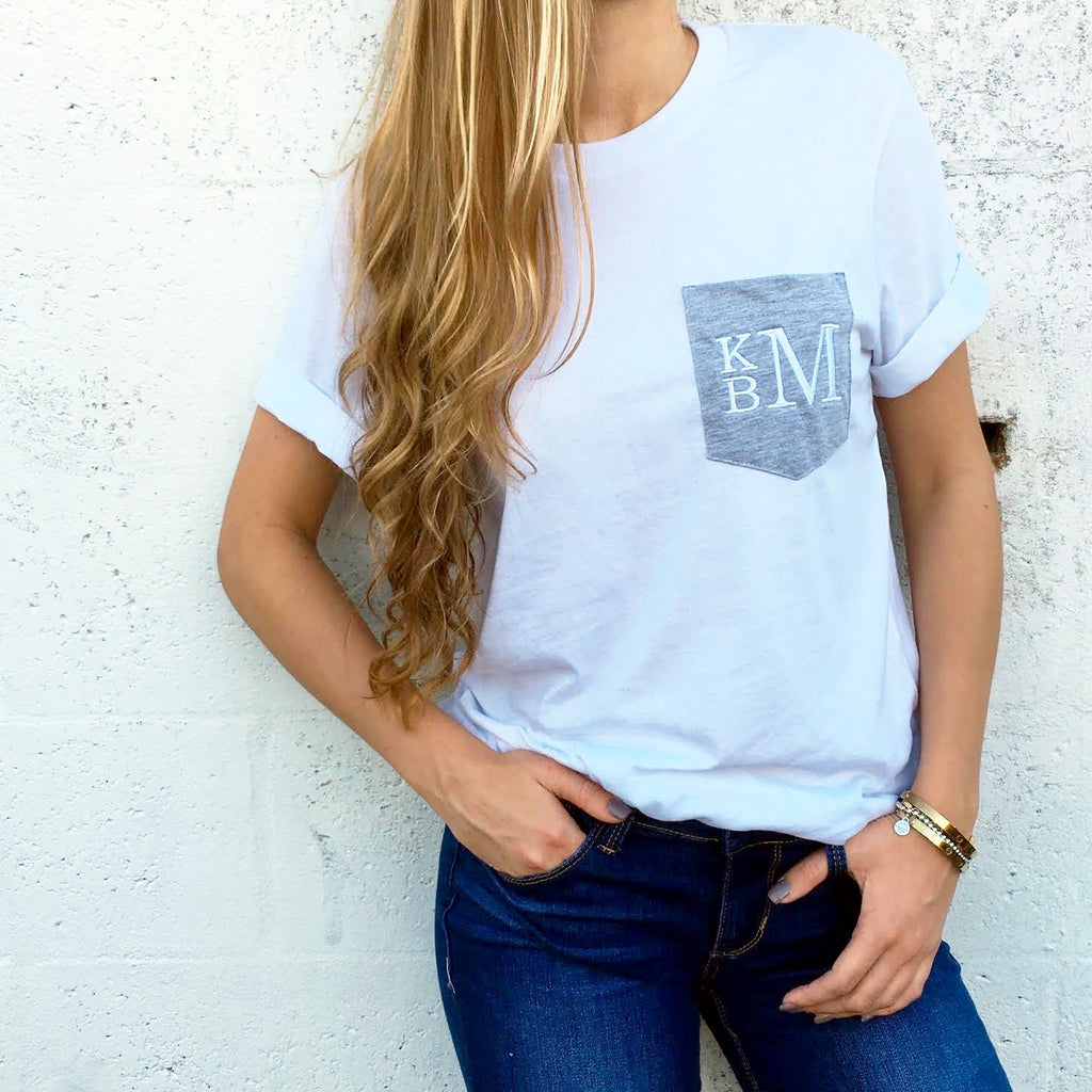 Monogram Perry Pocket Tee