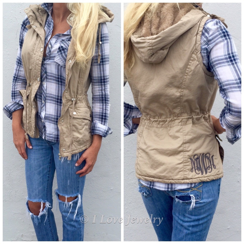 Monogram Safari Vest