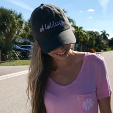 Monogram Pink Trucker Hat