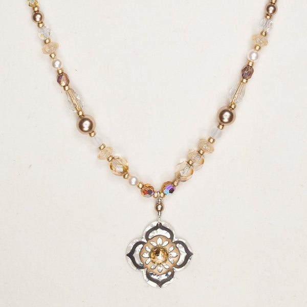 Gypsy Bloom Beaded Necklace