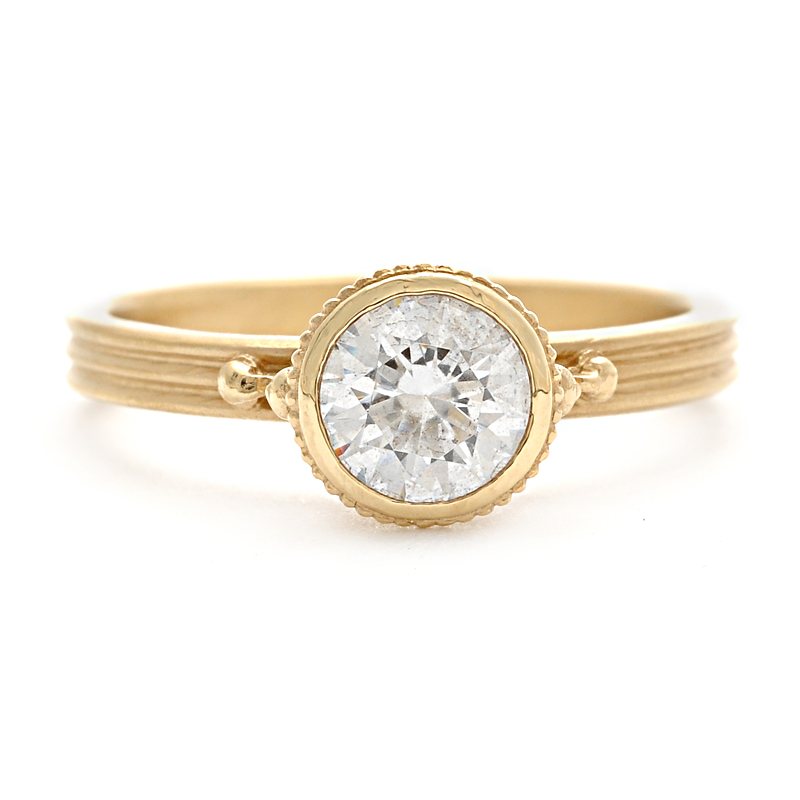 Ione Engagement Ring  w/.25ct  Diamond