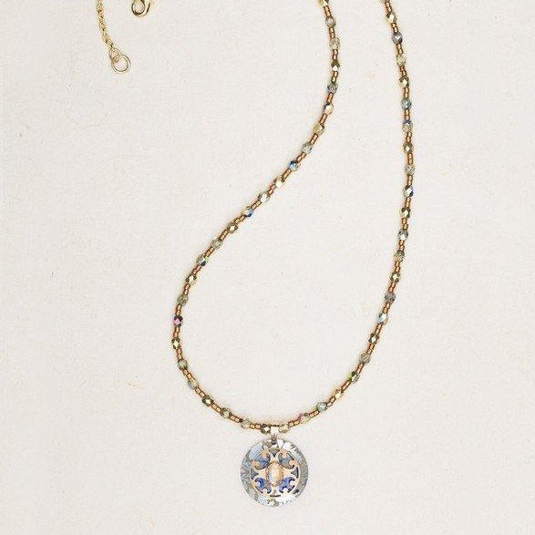 Petite Carmen Beaded Necklace