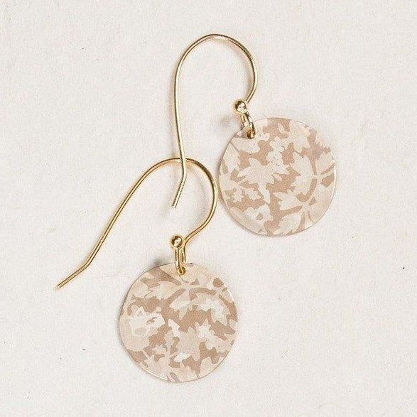 Ella Disc Earrings-Gold | Magpie Jewellery