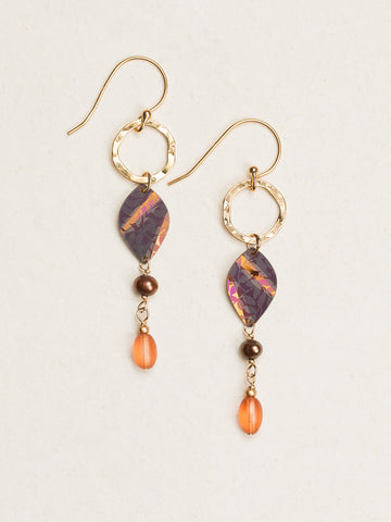 Tansy Earring - Amber