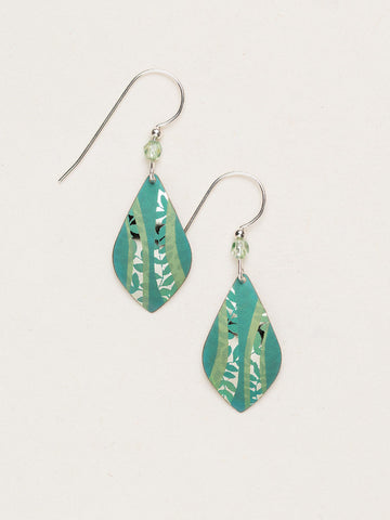 Riverwind Earrings -Tidal Teal