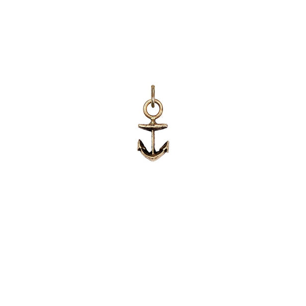 Anchor 14K Gold Symbol Charm | Magpie Jewellery