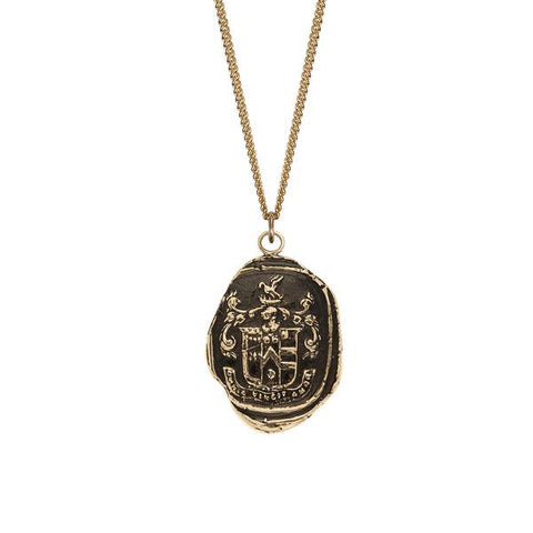 Love Conquers All 14k Gold Talisman