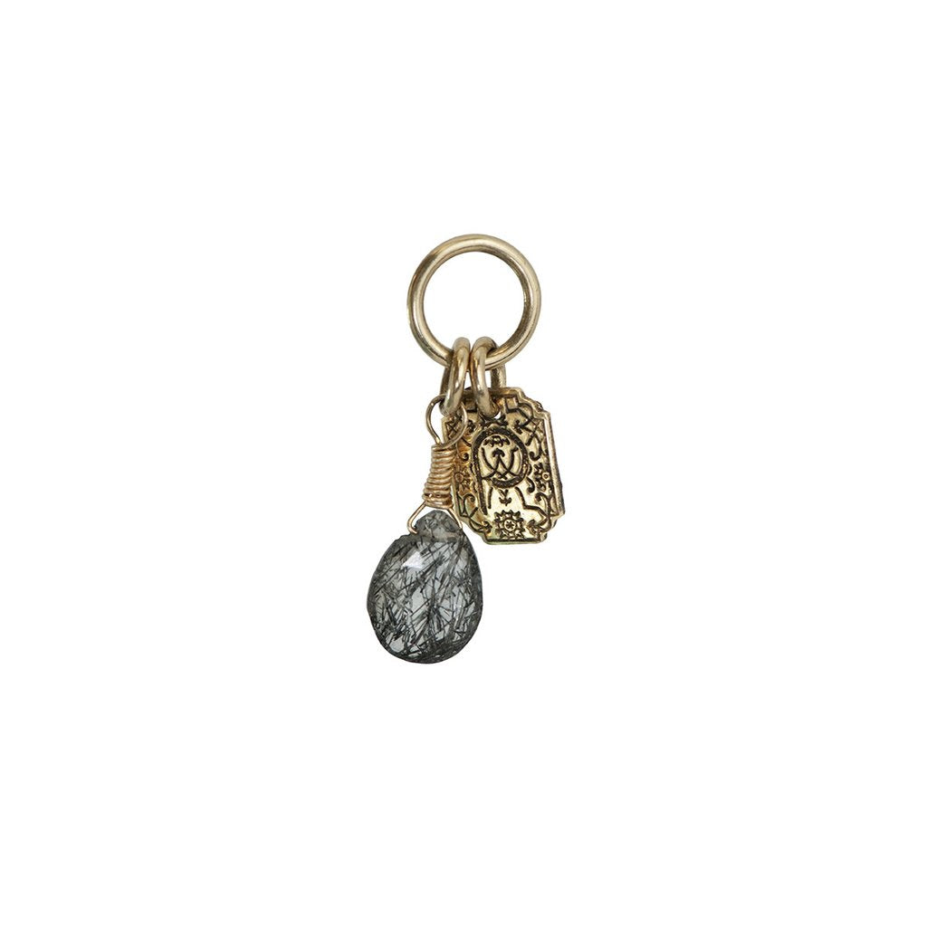 Protection 14K Gold Signature Attraction Charm | Magpie Jewellery