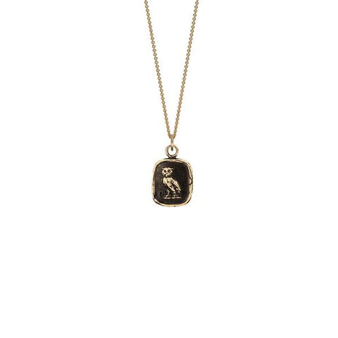 WATCH OVER ME 14K GOLD TALISMAN