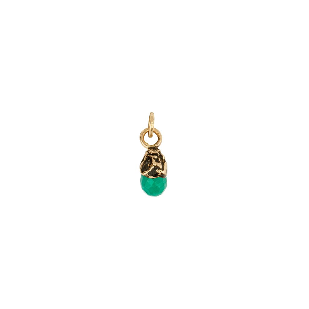 Abundance 14K Gold Capped Attraction Charm | Magpie Jewellery