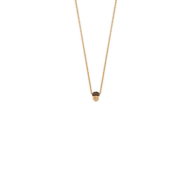 Acorn 14K Gold Symbol Charm Necklace | Magpie Jewellery