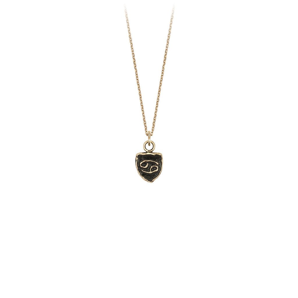 14k Gold Zodiac Talisman Cancer | Magpie Jewellery