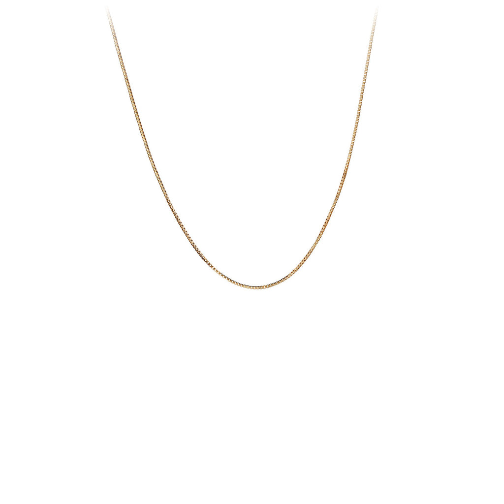 14K Gold Octava Box Chain